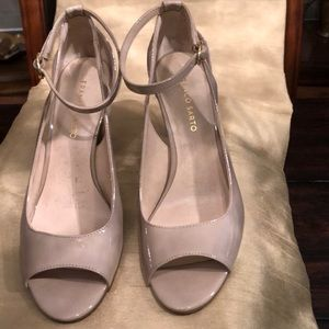 Franco Sarto Heels with ankle strap.